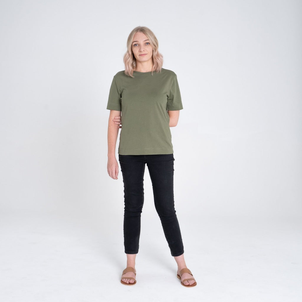 Dorsu | Ethical Cotton Basics | Signature T-shirt  | Jade