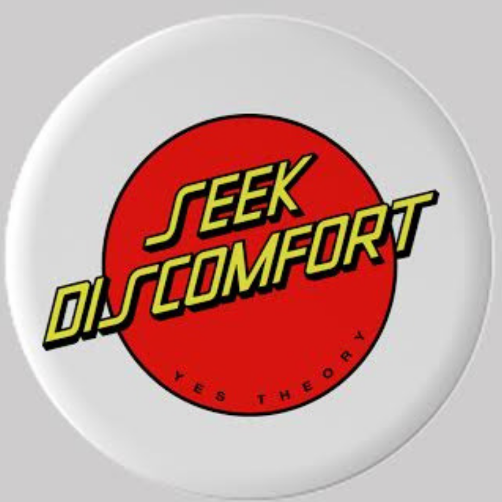 Seek Discomfort Santa Cruz Inspired Pop Socket
