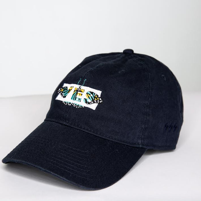 Yes Butterfly Dad Hat (Black)