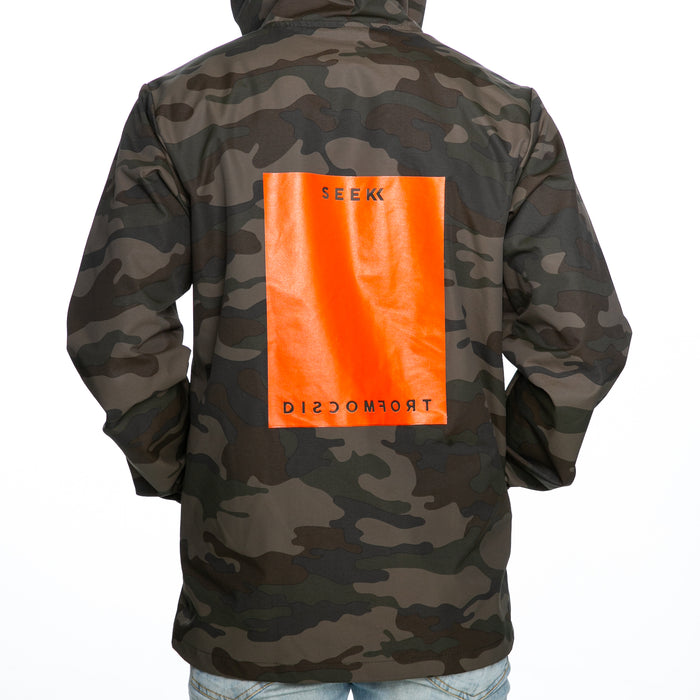 Seek Discomfort Big Square Rain Jacket