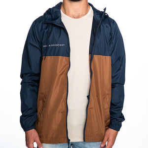 Seek Discomfort Lightweight Windbreaker Jacket