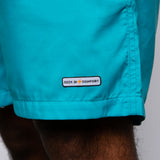 Seek Discomfort Swim Shorts (Teal)