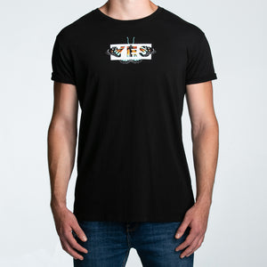 Seek Discomfort Yes Butterfly Tee (Black)