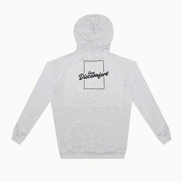 Heather Gray / Black Triple Bolt French Terry Hoodie