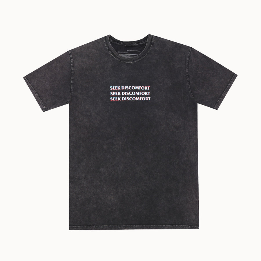 Black Stone 3-D Logo Short Sleeve Shirt
