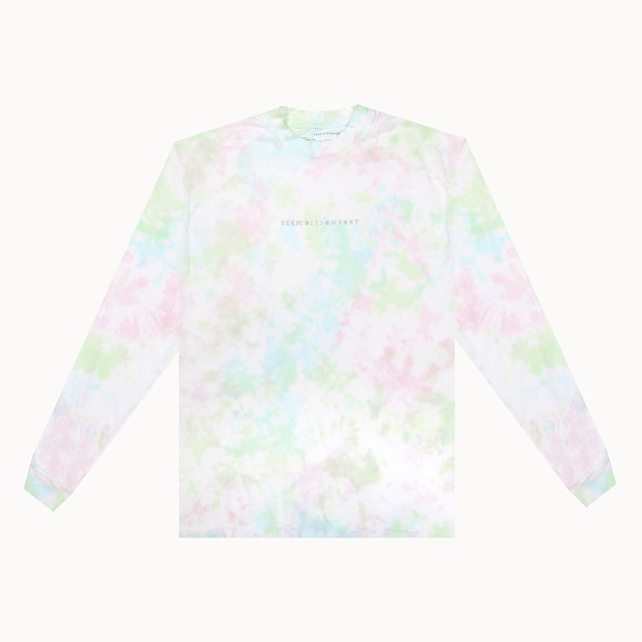 Water Color Tie Dye Heavy Weight LS Tee