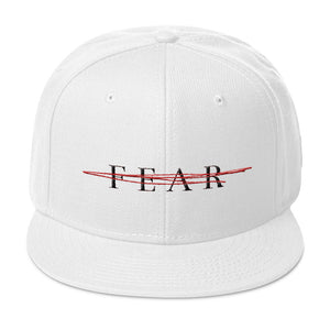 No Fear Snapback (White)