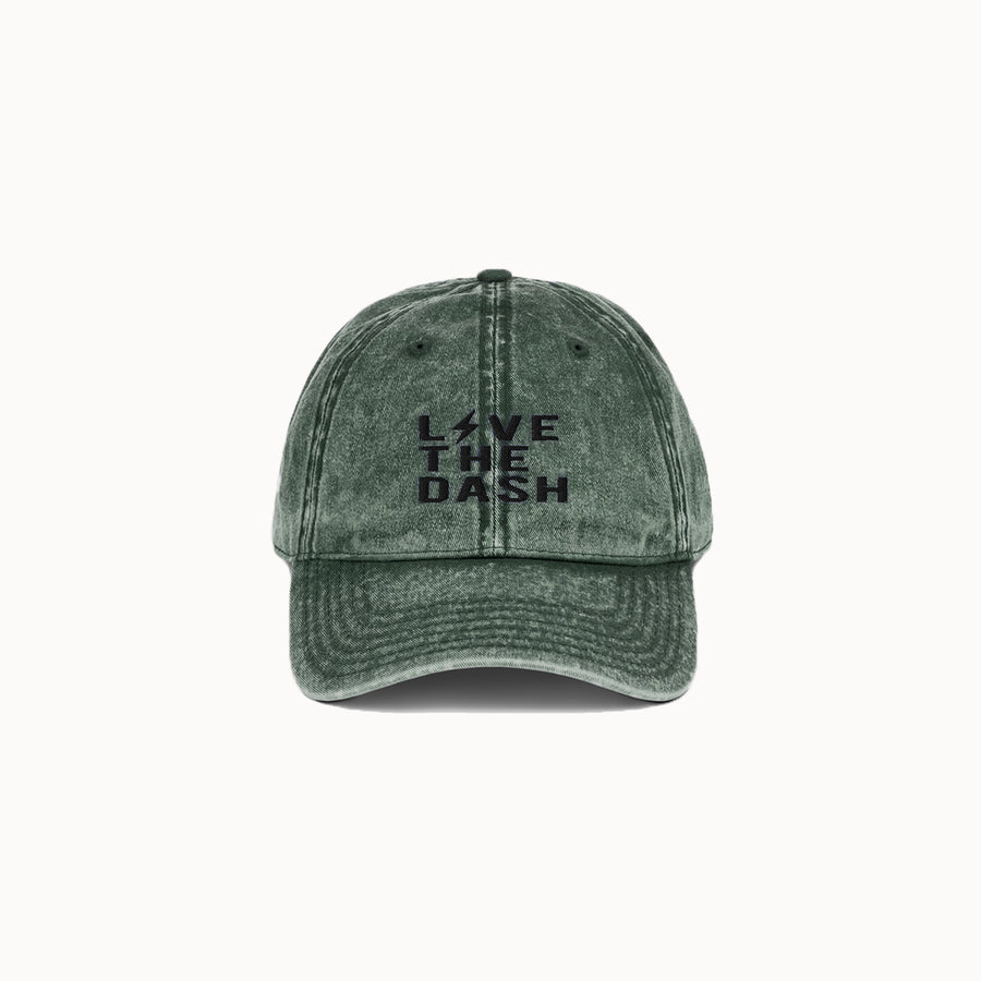 Olive Green Live the Dash Dad Hat