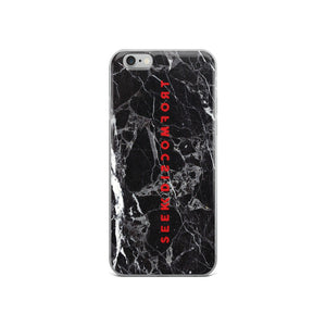 Seek Discomfort Marble Pattern Phone Case