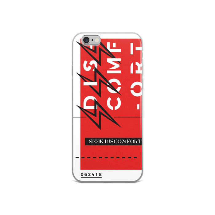 Red Triple Lightning - iPhone Case