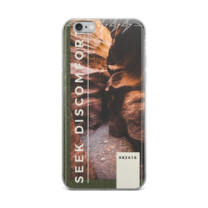 Seek Discomfort - iPhone Case