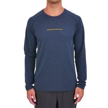 lululemon Blue Metal Vent Tech Long Sleeve 2.0