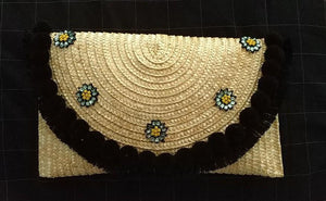 Straw Clutch Envelope Bag- Styles Available
