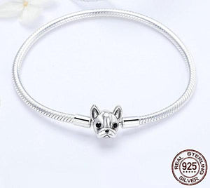 Doggy Snake Chain Bracelet