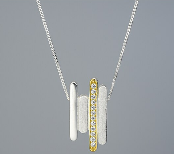 Parallel Lines Necklace