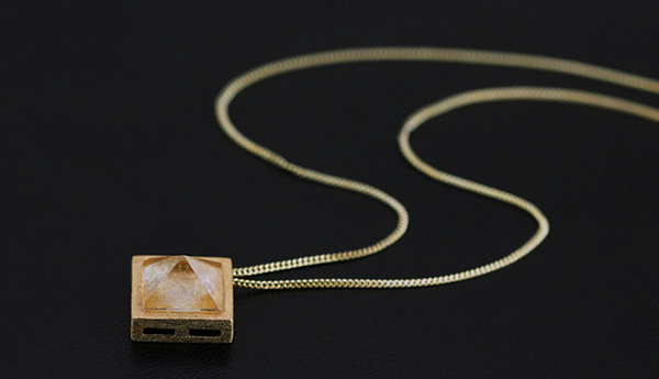 Pyramid Necklaces