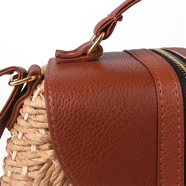 Tassel Straw Bag Handle Hardware