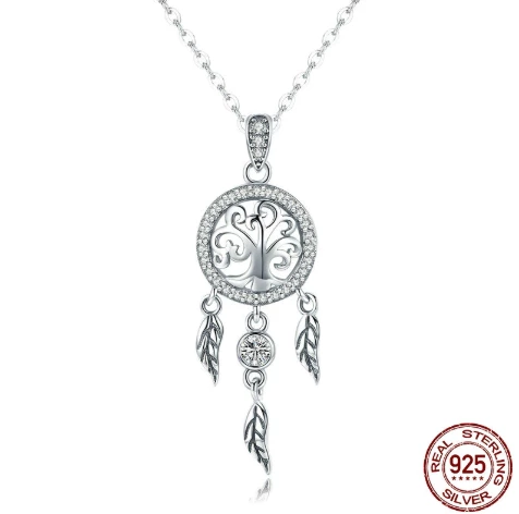 Dreamcatcher Necklace Tree of Life