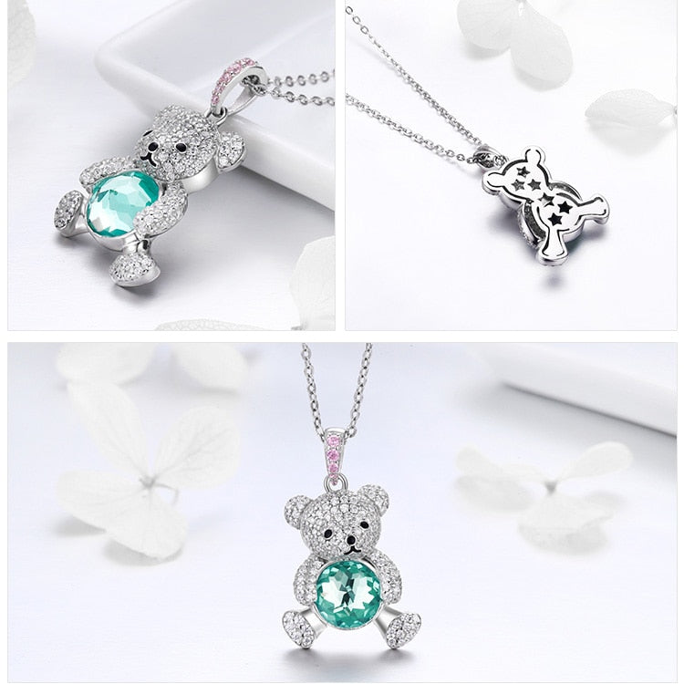 Bear Pendant Necklace- Styles Available