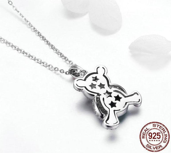 Lovely Bear Pendant Necklace- Styles Available