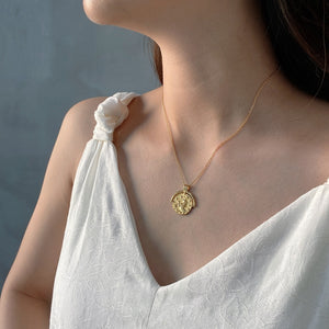 Constellation Medallion Necklace