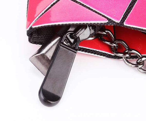 Geometric Messenger Handbag Hardware