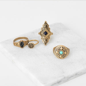 Bohemian Ring Sets- Two Tones Available
