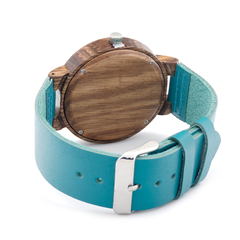 Turquoise Leather Watch