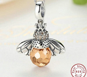 Queen Bee Pendant Necklace