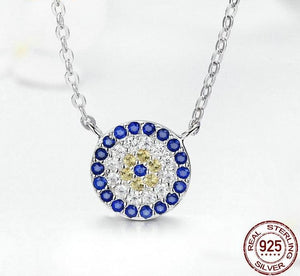 Round Lucky Eye Necklaces