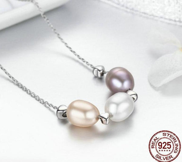 Love Pearl Necklace