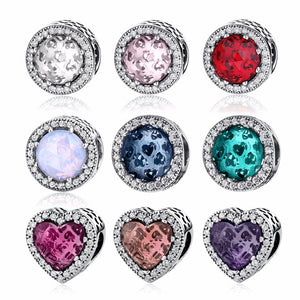 Crystal & Hearts Charms Collection