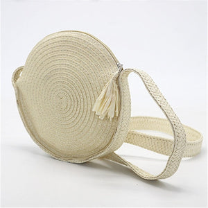 Bali Round Straw Bag-Colors Available