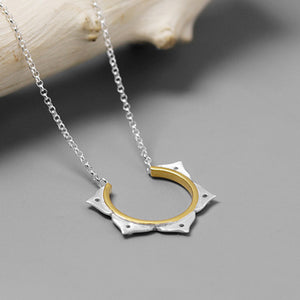 Lotus Flower Necklace for Women