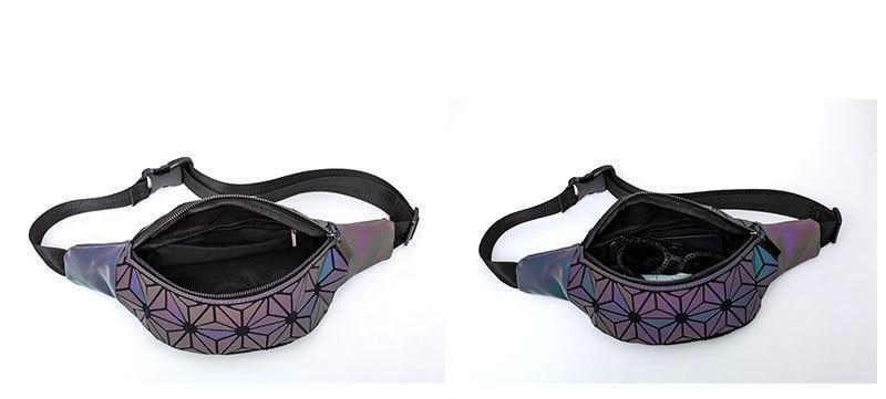 Geometric Luminous Fanny Pack Inner