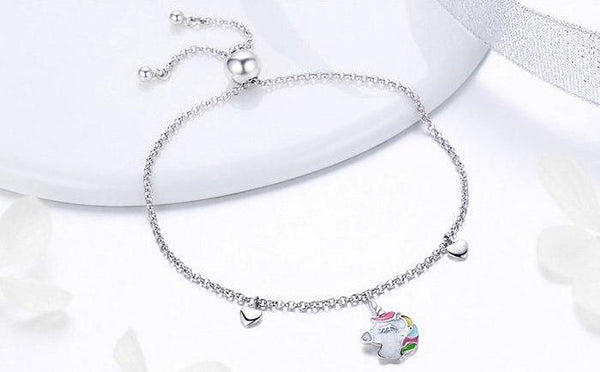 White Unicorn Bracelet