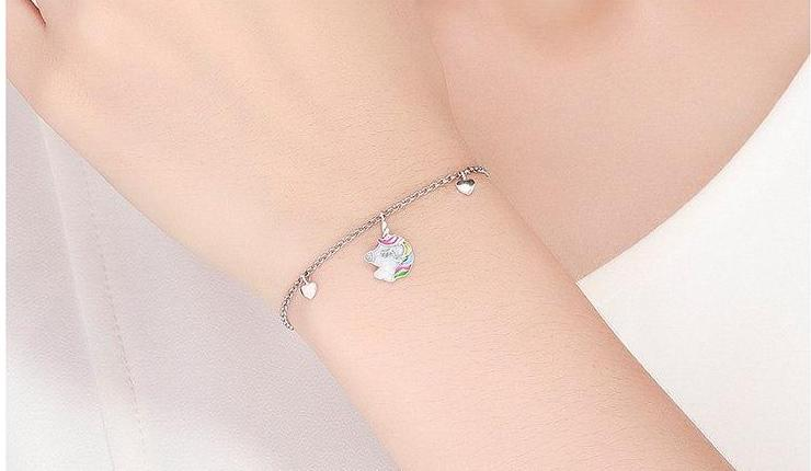 Multicolored Unicorn Bracelet