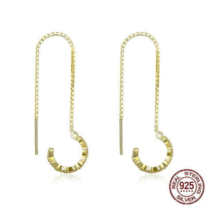 Lure Long Drop Earrings
