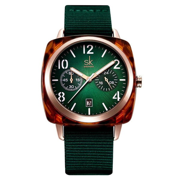 Fashion Nylon Watch-Green