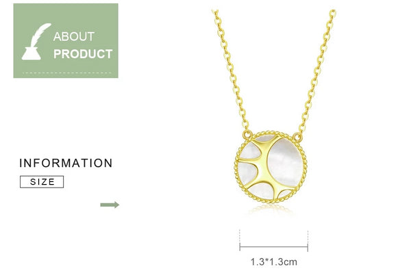 Nacre Sunshine Necklace