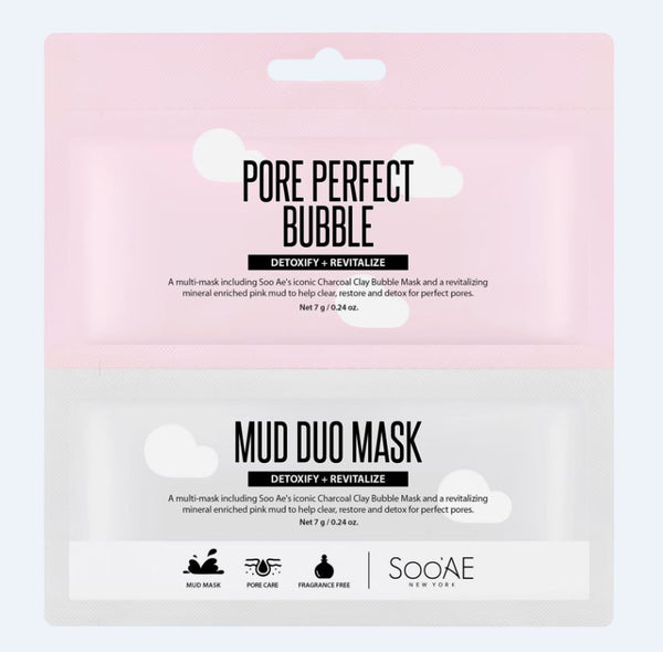 SOO'AE Pore Perfect Mud Duo Mask
