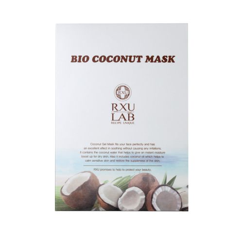 RXU LAB Coconut Sheet Mask (10 pack)