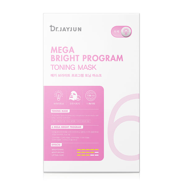 Dr.JAYJUN Mega Bright Program Toning Mask (5 Pack)