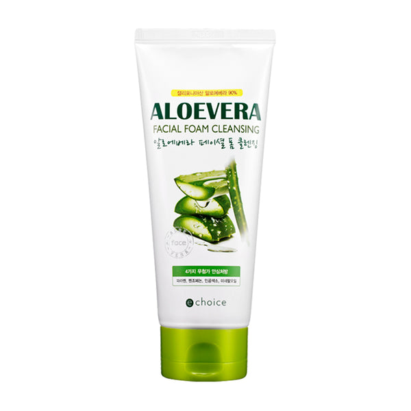 ECHOICE From Nature Aloevera Facial foam cleansing