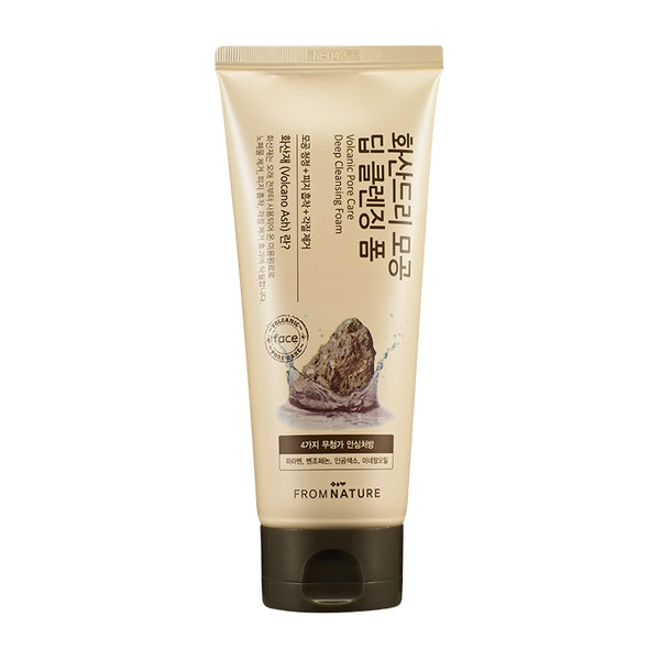ECHOICE From Nature Volcanic Pore Care deep cleansing foam