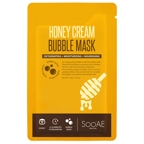 SOO'AE Honey Cream Bubble Mask