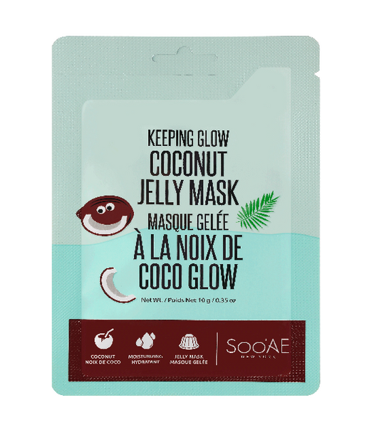 SOO'AE Keeping Glow Coconut Jelly Mask Sachet