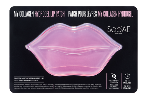 SOO'AE My Collagen Hydrogel Lip Patch