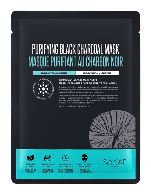SOO'AE Purifying Black Charcoal Mask