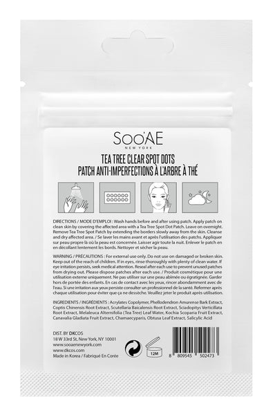 SOO'AE Tea Tree Clear Spot Dots